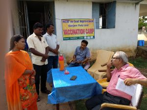 Vaccination Camp at OUAT, Bhuwaneswar, Odhisa