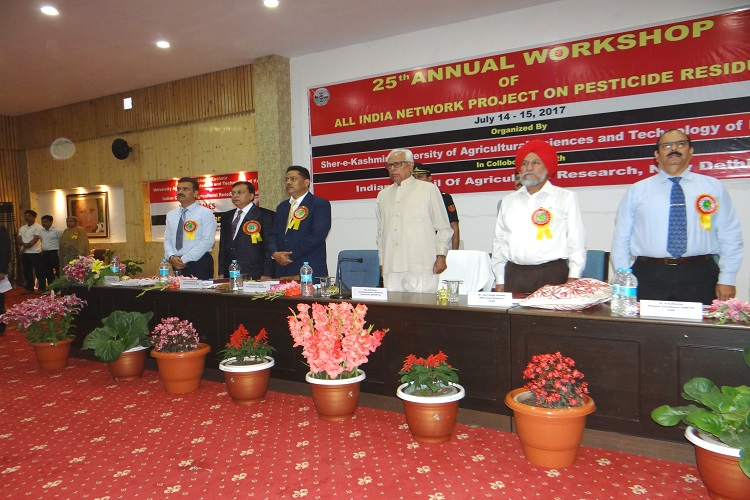 25TH Annual Workshop Inaugurated by Governor, J&K